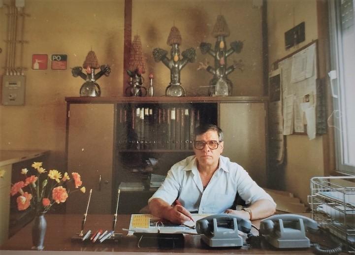 Adão de Sousa – dos cabos telefónicos fez arte