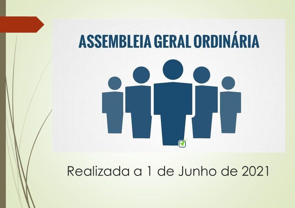 A. G. Ordinária   1 de Junho 2021